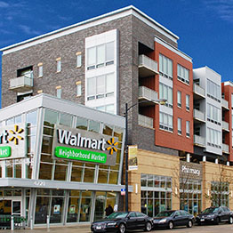 Mixed use property combines residential and commercial space