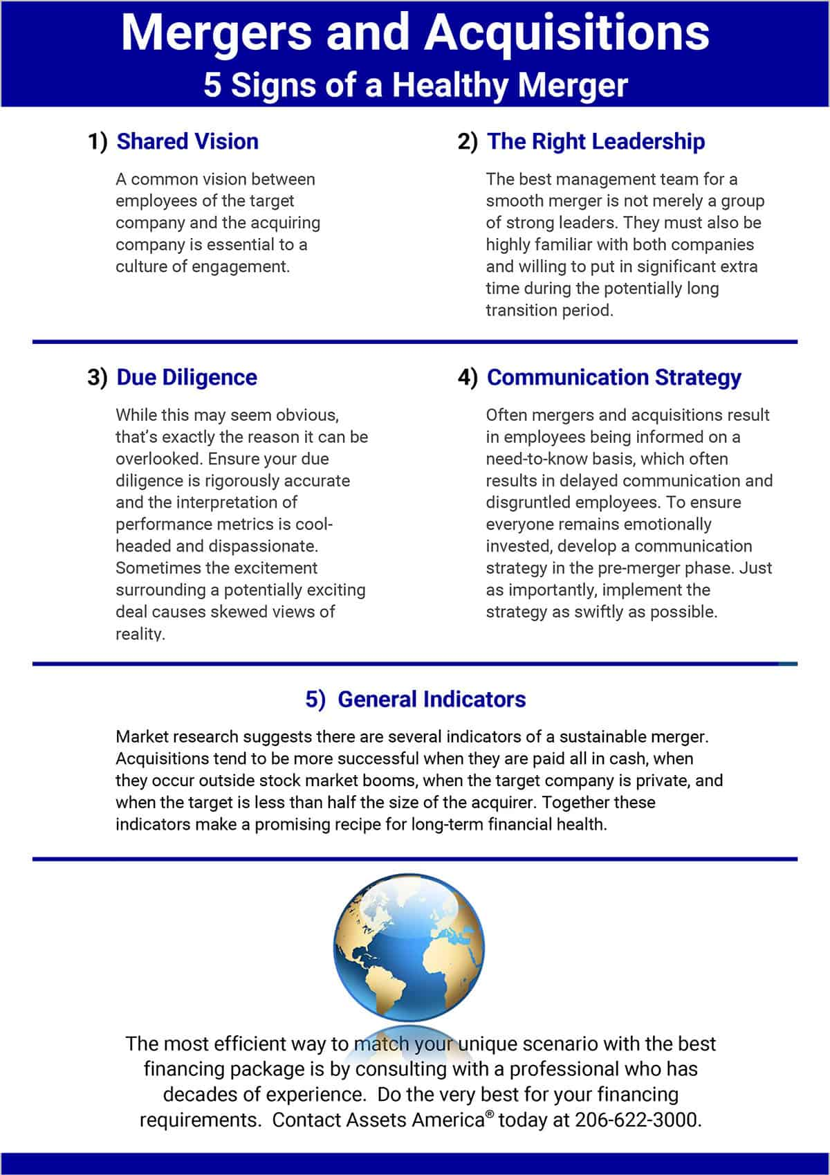Infographic: 5 Signs of a Healthy Merger