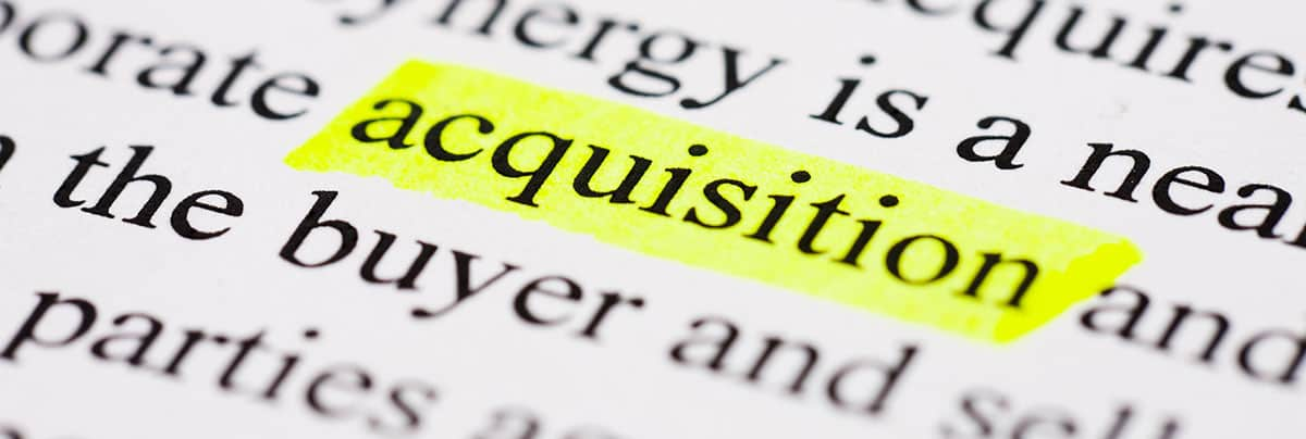 a highlighted Mergers & Acquisitions definition in a dictionary