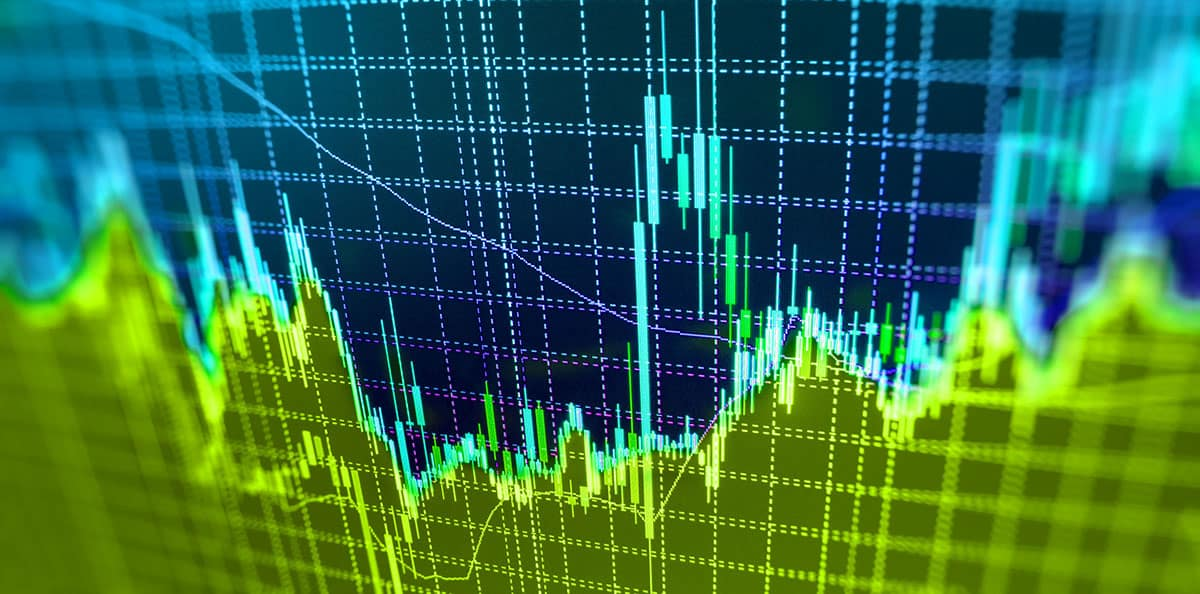 Stock Charts showing data