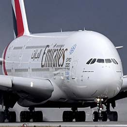 This Airbus A380 is part of a fleet of financed commercial passenger aircraft