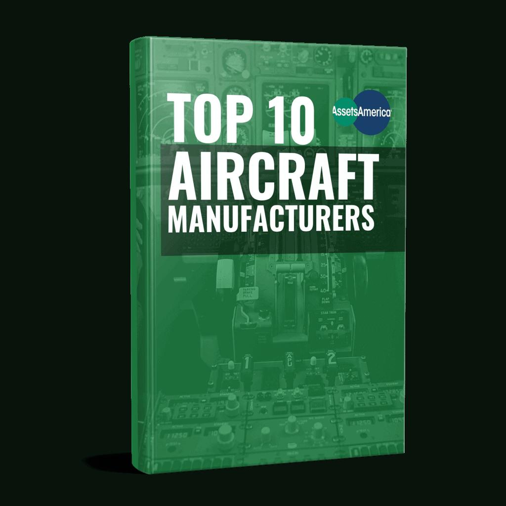 Top 10 Aircraft Manufacturers Ebook Mockup